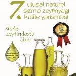 7. Zeytindostu Naturel Sızma Zeytinyağı Kalite Yarışması