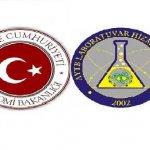 Laboratuvarımız Ekonomi Bakanlığı' nın Yetkili Laboratuvarıdır.